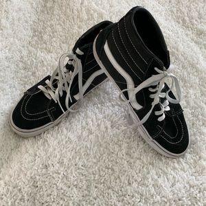 Vans Shoes - Vans High Tops Black Size 10.5 Womens SK8 -Hi